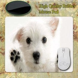 Wholesale-Funny Fashion Cute Dog Customized Rectangle Silicon Gaming Mousepad Size 220mmX180mmx2mm