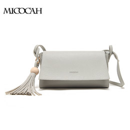Women Casual Bag PU Leather Tassel Bag Minaudiere Solid Color Women Messenger Bags GL30004