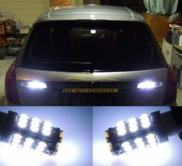 20Pcs Lot Car Xenon White 6000K T10 921 42-SMD 1206 LED Backup Reverse Light Bulbs free shipping