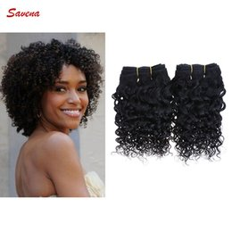 Wholesale Short Size Inch g g pc Brazilian A Kinky Curly Human Hair Extension