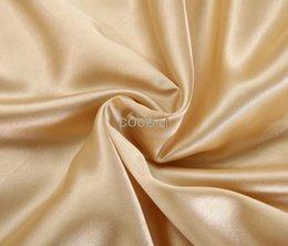Wholesale Pieces Best Sale Double Silk Pillow Case Silk Pillowcase Camel White BLack Pillow Cover Standard X74cm