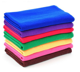 10PCS Microfiber Towel Car Cleaning Wash Clean Cloth 30X70cm