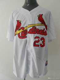 Wholesale 30 Teams New Cheap Baseball Jerseys St Louis Cardinals David Freese Authentic Baseball Gear