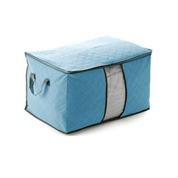 Wholesale 2016 charcoal color quilts stored moisture visible dust bag storage box finishing quilts clothing