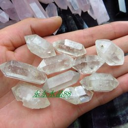 Wholesale Natural diamond white crystal point decoration crystal spirit energy stone