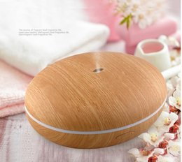 Wholesale 350ml new magic box mini aroma reed diffuser Wood Aroma Diffuser colors mini humidifiers for home use