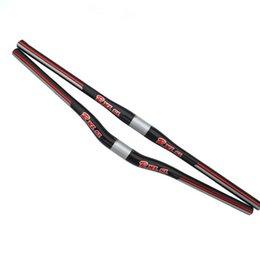 RXL SL Full Carbon Fiber MTB Mountain Bicycle Bend Riser Handlebar Straight Flat Handlebar Free Shipping