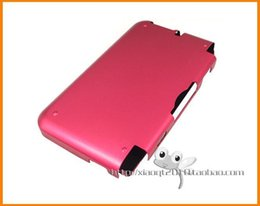 Wholesale-Free shipping Hard case Aluminum Hard Metal Cover Case For nintendo 3ds xl ll n3ds ll xl