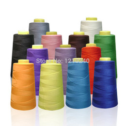 New 2000m Polyester Sewing DIY Thread Machine Upholstery Embroidery Craft Quilting Thread Apparel Sewing Notions Tools 13 Colors