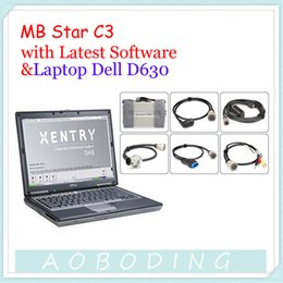 Wholesale ALL New Relay Hot Sale Professional MB STAR C3 Dell D630 Laptop Latest C3 Version