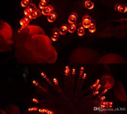 Descuento luces de hadas blancas con pilas DHL 40 LED de cadena MNI Luz de Navidad 3xAA alimentación con pilas blanco / caliente blanco / azul / amarillo / verde / púrpura Luces de Navidad Decoración de Navidad