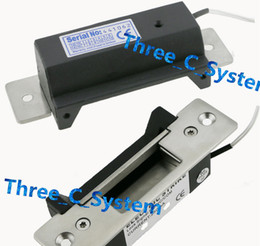 Wholesale ANSI Standard Heavy Duty Electric Strike Wooden Metal Glass door Lock lbs Electric Strikc Lock Access Control Electric Door Lock