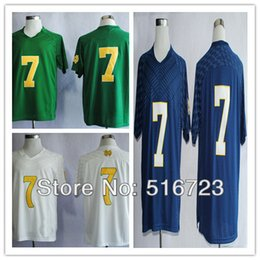 Factory Outlet- Free shipping Notre Dame Fighting Irish 2013 Shamrock Series Stephon Tuitt 7 College Football Jersey Men's Jerseys size 48-5