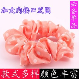 Wholesale Xayakids hair clips barrettes In a cloth factory direct interface to Yuan Taobao shop Tousheng rubber band explosion ring