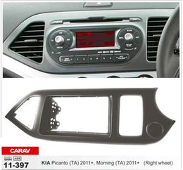 CARAV 11-397 Top Quality Radio Fascia for KIA Picanto (TA),Morning (TA)(Right wheel) Stereo Fascia Dash CD Trim Installation Kit