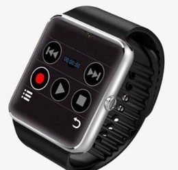 Wholesale Best smartwatch Android iPhone iwatch A8 GT08 Smart SIM phone watch can be time record GT08 Smartwatch