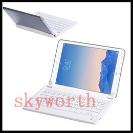 Wholesale Universal Wireless Bluetooth Keyboard Stand For inch Tablet PC Windows Android System Samsung tab with retail package