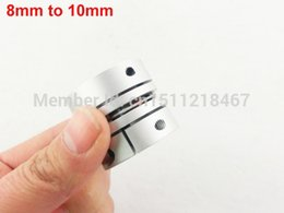 Wholesale 8mm to mm Clamp Tight Motor Shaft Connector Coupler Coupling Joint