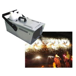 Wholesale 1500W DMX Snow Machine Amazing Artificial snow maker snow equipment for Christmas Stage Wedding