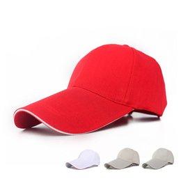 Wholesale-2015 New Fashion Mens Adjustable Baseball Cap Blank Sports Visor Sun Golf Ball Hat