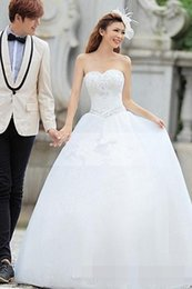 2015 Hot sale Newest Fantastic Ball Gown Sweetheart Beading Wedding Dress bridal gowns bridal dresses plus size wedding dresses