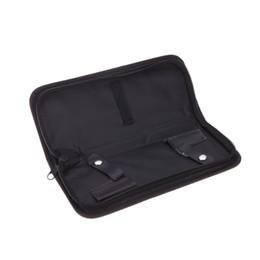 Hair care bag Scissors tool Packaging Lightweight Professional PU 2 Scissors Package Hairdressing Scissors Tool Bag