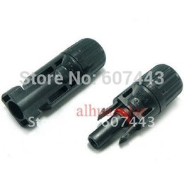 Wholesale 50 Pair MC4 male female solar panel connector TUV MC4 solar connector with TUV approved years warranty