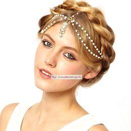 Wholesale Real Images Rhinestone Beautiful Shining Crystal Wedding Bridal Wedding Hairpiece Accessory CPA197