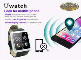 U10L U10 Bluetooth watch phone Smart Dial Bracelet Watch Android Watch For iPhone Samsung HTC Smartphones Waterproof Anti-lost function