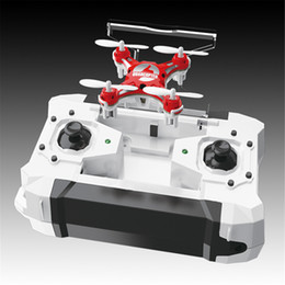 Wholesale FQ777 Pocket Drone CH Axis Gyro Quadcopter With Switchable Controller Toys RTF
