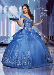 Wholesale Short Sleeves V Neck Quinceanera Dresses Embroidery Beads Sequin Draped Princess Ball Gowns Prom Clothes Lace up Custom Made Ruffle