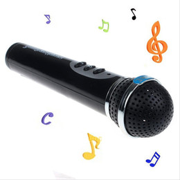 Children Microphone Toy Mic Karaoke Singing Kids Toy Microphone Enfant Funny Gift Musical Toys Black