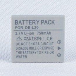 Batterie pour Sanyo DB-L20, DB-L20AU et Xacti VPC-C40, VPC-C5, VPC-C6, VPC-CA6, VPC-CA65, VPC-CA8, VPC-CA9 Caméscope numérique à partir de sanyo caméscope numérique fournisseurs