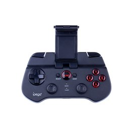 Wholesale ipega PG S Bluetooth Wireless Gaming Controller Andrews Bluetooth phone Joystick For PC IOS7 support Apple Tablet PC Samsung millet