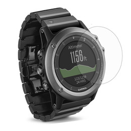 3x Clear LCD Screen Protector Guard Cover Film Skin for Garmin Fenix 3 Fenix3 Sporting Running Smart Watch