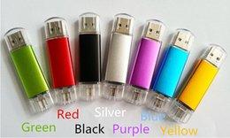 Wholesale 64GB GB GB GB GB USB memory stick OTG mobile U disk Swivel USB Flash Drives Pen Drives Memory Stick U Disk real capacity