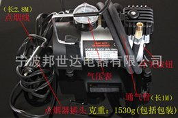 Wholesale Car manufacturers insurance gifts play pump air pump car air pump BSD