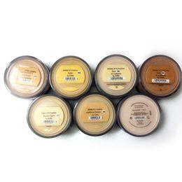 Makeup Minerals Foundation loose powder 13colors 8g C10 fair 8g N10 fairly light 8g medium C25 8g medium beige N20 9g mineral veil DHL