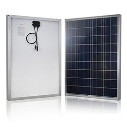 Wholesale Renogy Watts Volts Polycrystalline Solar Panel Fully self powered off grid system