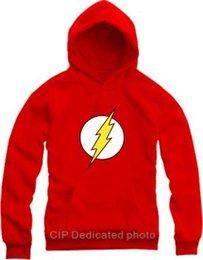 Wholesale Jay Garrick Barry Allen Wally West Bart Allen hoodies The flash sweatshirts Justice League pocket pullover superhero costume