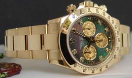 RELOJES de lujo 40mm oro de 18 kilates TAHITIAN Madre de Perla Diamante - Reloj de Hombre 116528