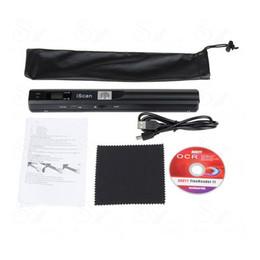 Wholesale 900DPI iScan Wireless HD Portable Hand Held Mini Scanner A4 JPG PDF