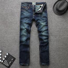 SALE Mens Jeans new sales Hole patch Jeans famous brand Embroidery beauty men Straight Cotton Denim Jeans Large Size