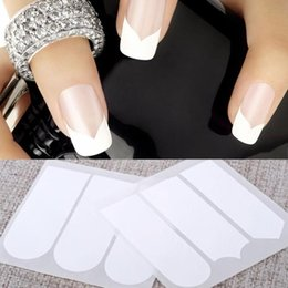 2 Packs DIY Manicure Nail Art Tips Decals Nail Tape tape Nail Tools Smile Line # M01113