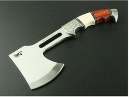 Wholesale NEW Browning Outdoor Camping Axe Survival Kit Fire Ax Genuine Laser Patterns