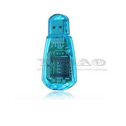 Wholesale Super SIM Card Reader for CDMA GSM Mobile Phone SMS Backup SIM Card Device SD Card CDMA USB to Sim Card Reader Support ICQ MSN