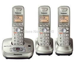 Wholesale KX TG4021 DECT Handsets Cordless Phone With Answering System Wireless Home Telephone For Home