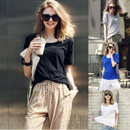 Fashion 2017 Women white Loose Cotton Short Sleeve Round Neck Tops Blouse T-Shirt Camisetas Ropa Mujer