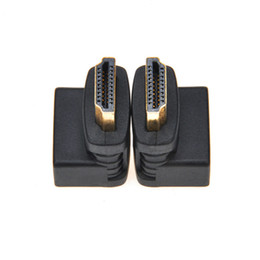 Wholesale HDMI Angled Type HDMI to HDMI Male to Female Degree Rotating Adapter Connector