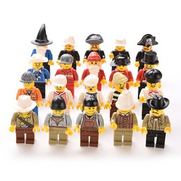 Wholesale 20 Men People decool minifigures for legos Minifigs Grab Bag gift Random Figures Kids Toys fast delivery